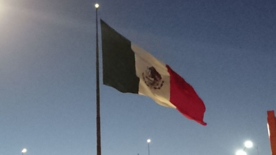 Flag Low Angle View Sky No People Mexico Mexico City Patriotism Bandera De Mexico Day Outdoors