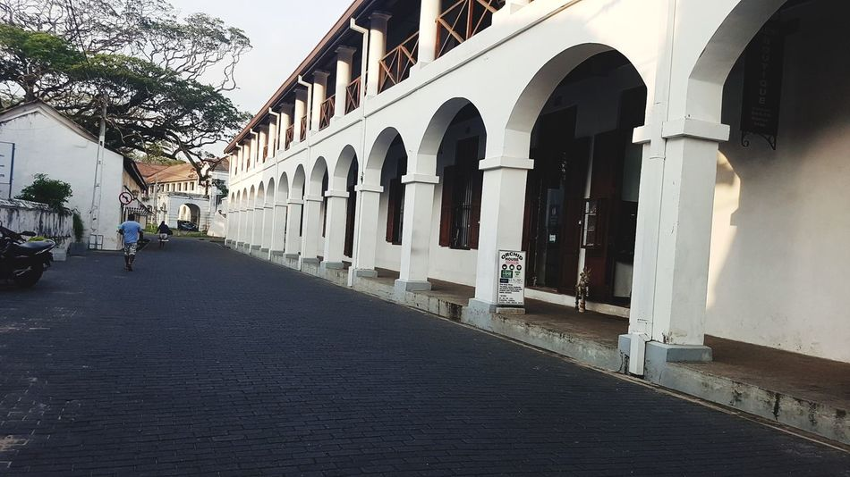 Sri Lanka Dutch Fort Galle Fort Historical Tourism Tourism Destination Street Travel Destinations Architecture Built Structure