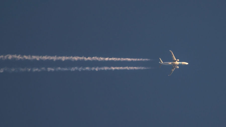 In honour of the lives lost... (This is flight MS779, flying from Cairo to London on May 17 2016 at an altitude of 12184 meters.) 16x9 Airplane Blue Boeing 737 Crash Disaster Egypt Egypt Air Egypt Cairo Flight Flying Life Lost Low Angle View Mode Of Transport MS804 News No People Outdoors People Sadness Scenics Sky Tranquil Scene