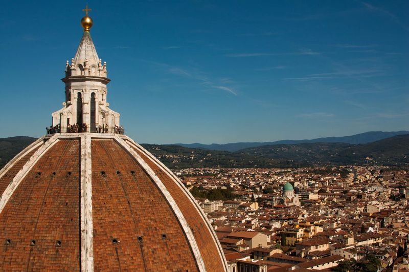 The lovely Duomo of Florence. it's almost like the entire city is a post card. Italy Florence Firenze EyeEm Selects Sky History Day Outdoors Mountain No People Close-up EyeEmNewHere