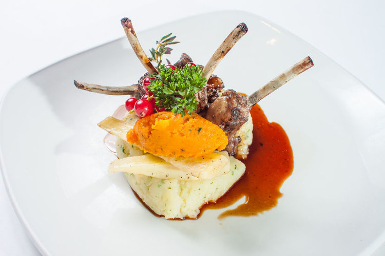 Comida Cooking Cordero Costillas Cuttler Dish Eat Food Hospitalitylife Hosteleria Lamb Manu Platos
