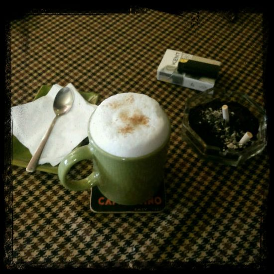 Coffee And Cigarettes Coffee Latte