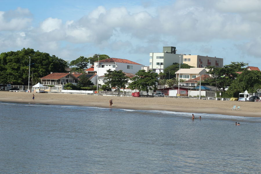 Beautiful beach in southern Brazil Beach Brazil Buildings Cityscape Day Ocean Outdoors Piçarras Santa Catarina Santa Catarina Brazil Santa Catarina, Brazil Sky And Clouds Skyline Tropical Tropical Paradise