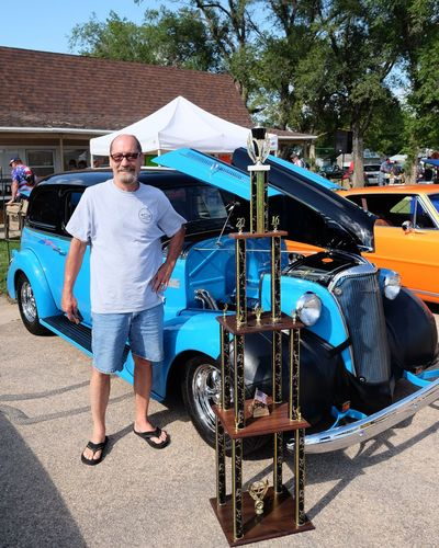 Car Show 2016 Old Settlers Picnic Village of Western, Nebraska Automobile Cars CarShow Classic Car Full Length Lifestyles Old Settlers Picnic Outdoors Photo Essay Photography Portrait Prize Trophy Western Nebraska Winning