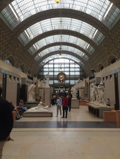A flashback to a week end well spent at Orsay Museum in Paris #saiailan #spcp_8_myweekend #thegreymatter Architecture Tourism Travel Destinations First Eyeem Photo