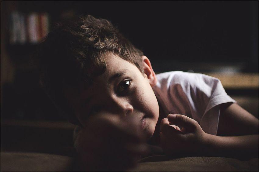 My Son Emotions Portrait Childrens