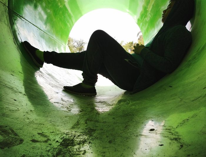 abandoned slide Abandoned Urban Urban Exploration Urban Lifestyle Green Color Green Green Green Green!  Teen Acuatic Park Silhouette Close-up Bad Condition Obsolete Worn Out Deterioration Blade Of Grass Run-down Visual Creativity The Traveler - 2018 EyeEm Awards The Street Photographer - 2018 EyeEm Awards