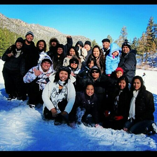 snow day #famNfriends #lv702 #mtCharelston #goodTimes