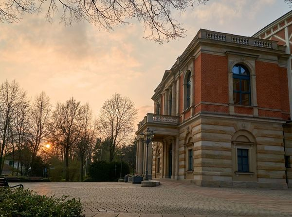 Wagner Wagner Opera Bayreuth City Built Structure Wagner Architecture Sunset Sunsets Festival Theatre Bayreuth Bayern Germany Germany sight Sight Famous Place Famous