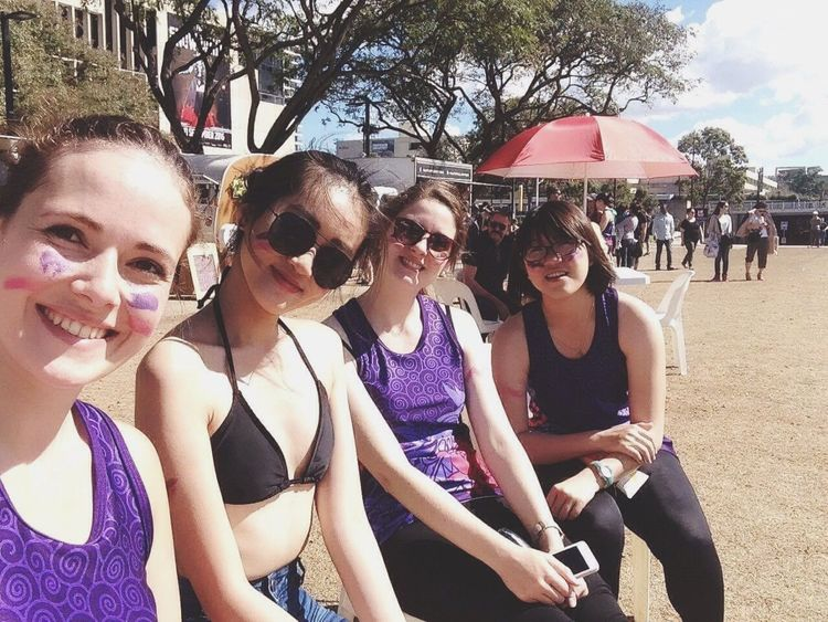 Cute Selfie ✌ Enjoying Life Happy Fun Team Girls Brisbane
