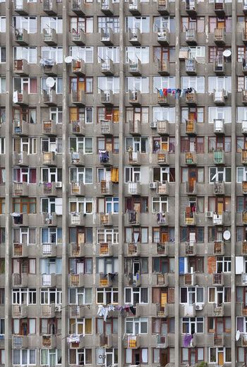 View From my Window Balcony Building Flat House Humans People Soviet View Window EyeEm Selects End Plastic Pollution