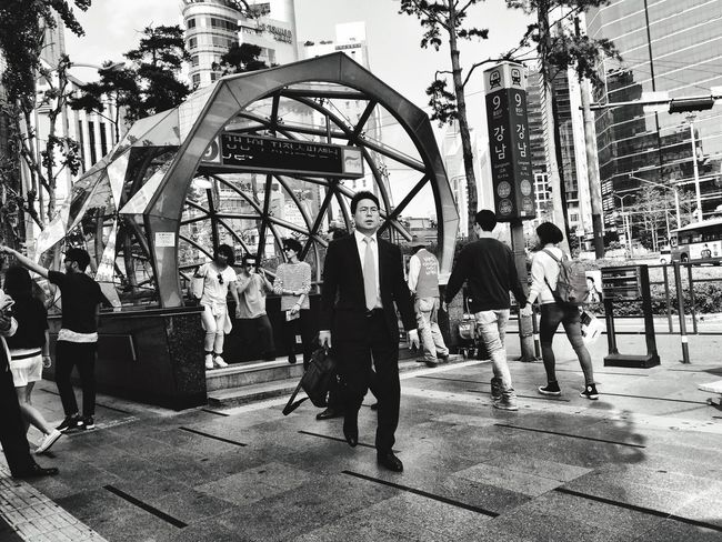 B&w Street Photography Rushing Rushhour Crowded People Showcase: December Lifestyles Stressed Out...