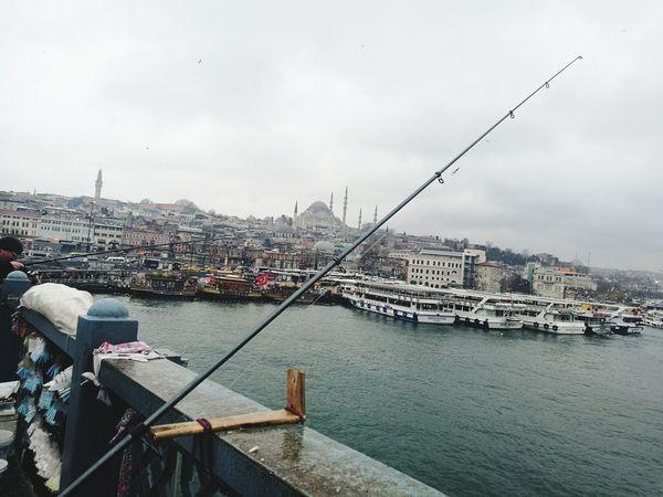 Istanbul Vatan Sehir_istanbul Turkey Balık Olta Eminönü City Cityscape No People Water Outdoors Sea Harbor Day Architecture Sky