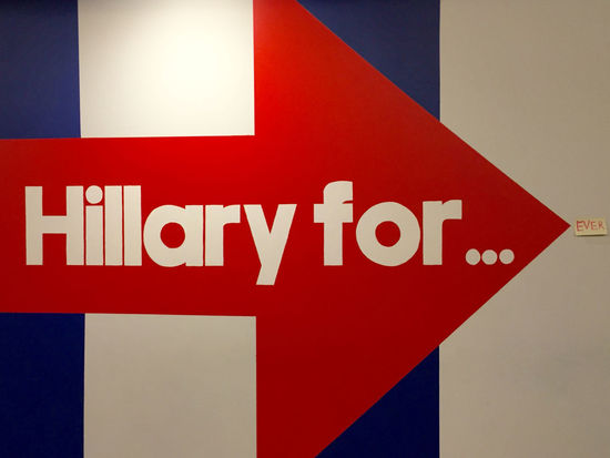 Campaign Communication Hillary Clinton Hillary For HRC Indoors  Politics Presidential Campaign 2016 Text