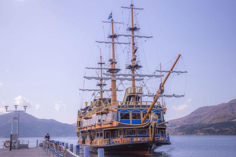 the ship at