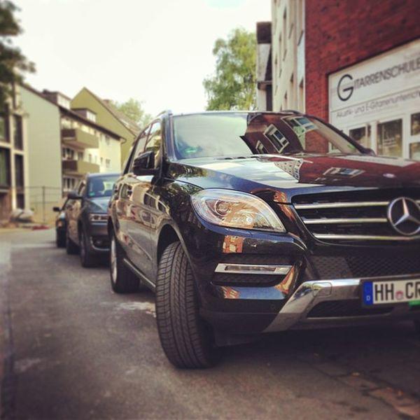 Das nennt man wohl eine Karre für Kerle — #Mercedes #ML #350 #ml350