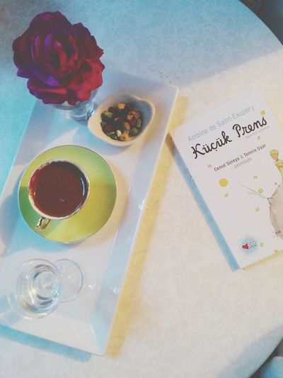 My new book!! ♥📖😊😊🎀Taking Photos Coffeetime Bahar The Little Prince Turkish Coffee Nightphotography
