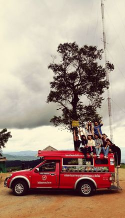 Outdoors People Sky Day Tree Cloud - Sky Vacations Relaxing Good Times Chiangmaitrip Chiangmai,Thailand Chiangmai Red Fire Engine Firefighter Transportation