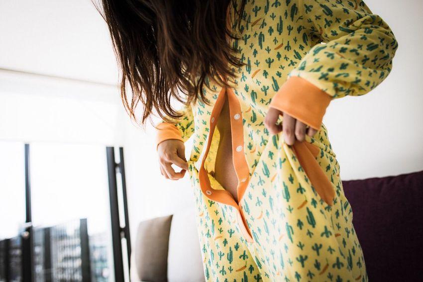 Color Portrait Fashion Portrait Model Photorhythm Woman Beautiful Pretty Cute Relaxing Pajamas
