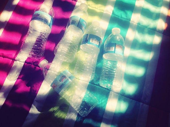 All The Water Bottles Under My Bed.