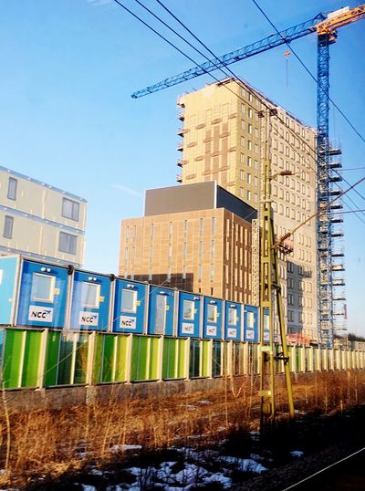 Älvsjö Construction Building Exterior Building