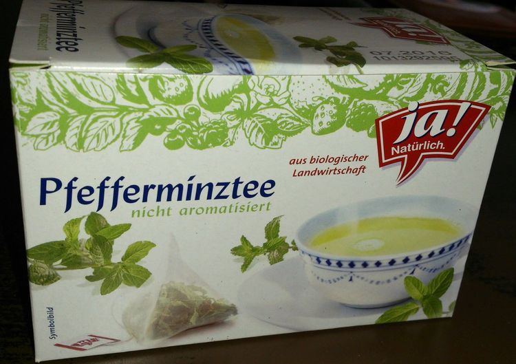 Pfefferminz Tee von Ja! Natürlich Aus Biologischer Landwirtschaft Februar 2014