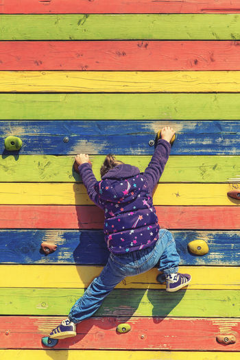 Climbing Kids Of EyeEm Children Climb Colourful EyeEm Best Shots Family Fun Kids Kids Being Kids Wood Activity Child Childhood Children Only Climbing Colorful Enjoyment Eye4photography  Fun Girl Girls Kid Leisure Activity Multi Colored Playing Rear View EyeEmNewHere