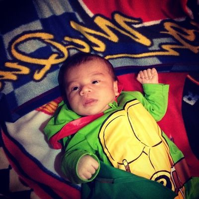 My smallest nephew :)