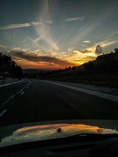 California Drive Drivebyphotography Sunset Sunset #sun #clouds #skylovers Sky Nature Beautifulinnature Naturalbeauty Photography Landscape [a:55687] On The Road Roadside The Great Outdoors With Adobe