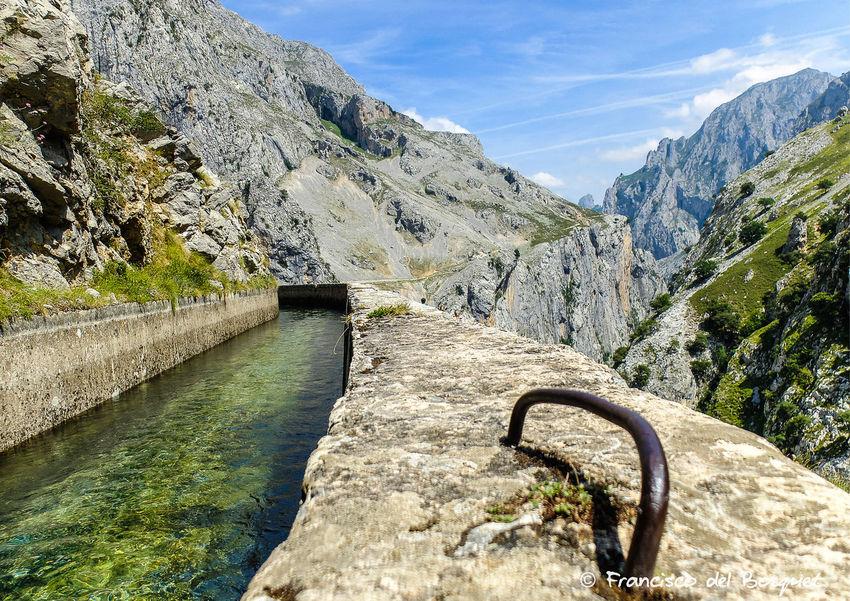 Landscape Picos De Europa Rock Formation Rutadelcares