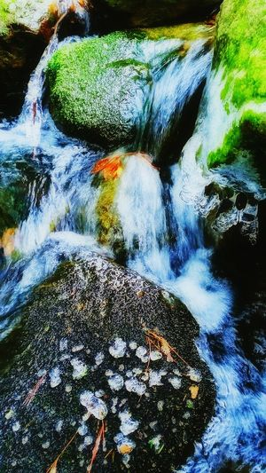 Rose Mountain Greenfield Newhampshire Out Hiking and found this Lovely spot. The splash from the Stream formed Ice drops on the Rocks. Early Spring is an Amazing time of year! Seasonal Movement Nature Water River Fresh On Eyeem  Natures Diversities