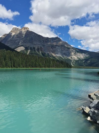 A very Emerald Lake Mountains Eye Em Around The World Traveling Nature Beauty Vacation Summer Canada