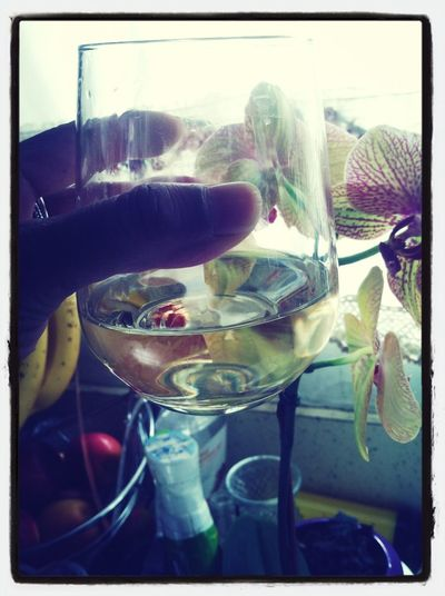 A Glass Of Chard To Cook At Ease!