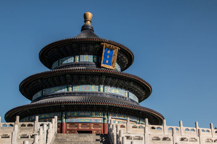 Temple of Heaven Ancient Architecture Ancient Landmark Beijing Beijing Blue Sky Beijing China Beijing Emperor Beijing History Beijing Landmark Beijing, China China Landmar Chinese Temple Chinese Temples Temple Temple Of Heaven Temples Showcase April The Architect - 2016 EyeEm Awards