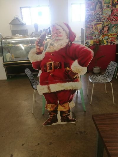 Full Length Arts Culture And Entertainment Front View Indoors  Leisure Activity Only Men One Person Adults Only People One Man Only Adult Day Young Adult Celebration Christmas Close-up Night 7news Coke Easts Tree Adventure Drink Photography Themes Christmas Decoration