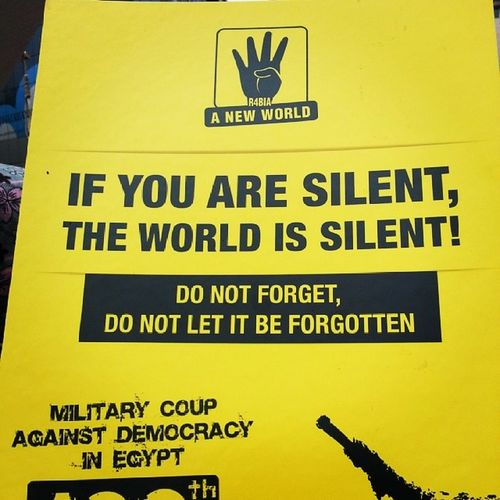 If  You Are  Silent theworldissilentdonotforget don't letitforgotten