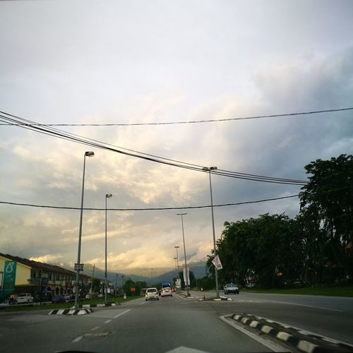 Electricity  Cable Car Tree Beauty In Nature Malaysia