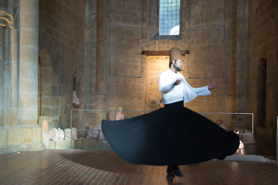 Whirling Dervish Dervish Indoors  Music One Person People Performance Performing Arts Event Skill  Sufi Whirling