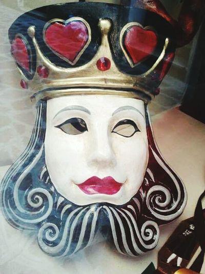 King Carnival Mask