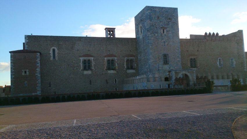 Visitando el Palacio de los Reyes de Mallorca en Perpignan