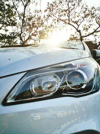 Headlight Indianphotographer Carphotography Ciaz Marutisuzuki White Reflection On Car Timepass Good Car