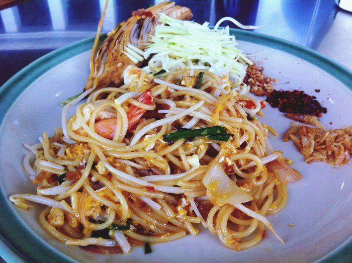 สปาเก็ตตี้ผัดไทย Padthai Yummy Spicy