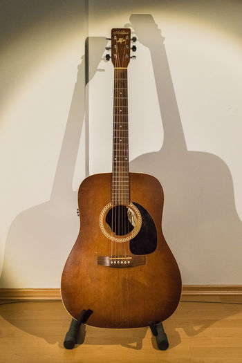 shots of my favourite instrument Art & Lutherie Canoma Photography Dreadnought Guitar Handmade Music Instrument Shadows Studio Shot Western Guitar Wood - Material