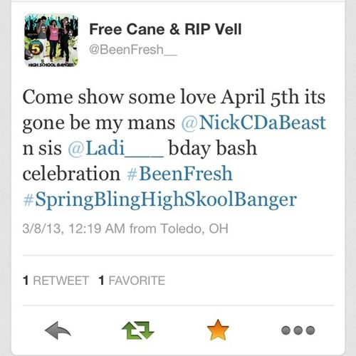 """#BeenFresh #SpringBling April 5th @ The American Legion """"1430 Southdield Rd Lincoln Park Mi, 8pm-1am"""""""