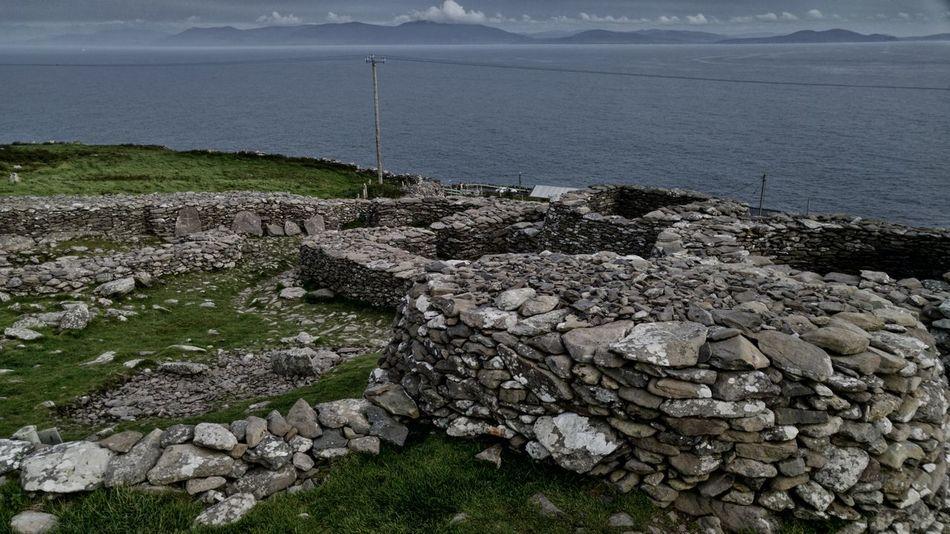 Ireland Travel Kerry County Pivotal Ideas Beehive Huts Vacation Before Christ B.C. Stone Stone Houses  Stone Walls Irish Heritage Powerlines