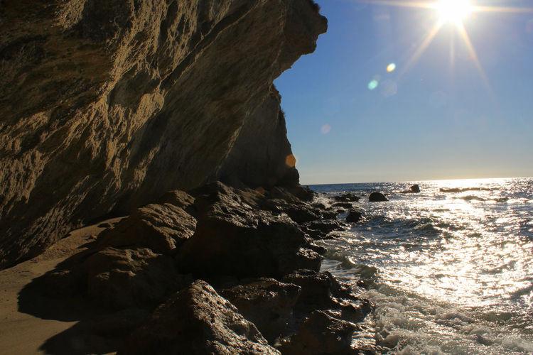 Sea Rock Sky