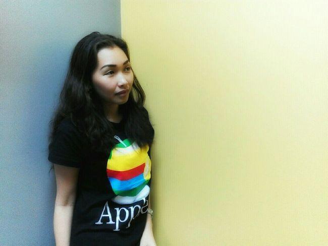 Colors Hues Blackshirt Apple Yellow Gray EyeEm Gallery Taking Photos