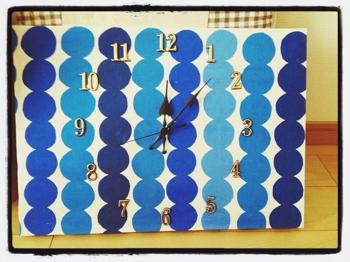 マリメッコ Marimekko 時計作った