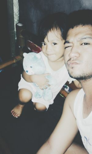 bonding with her. :)