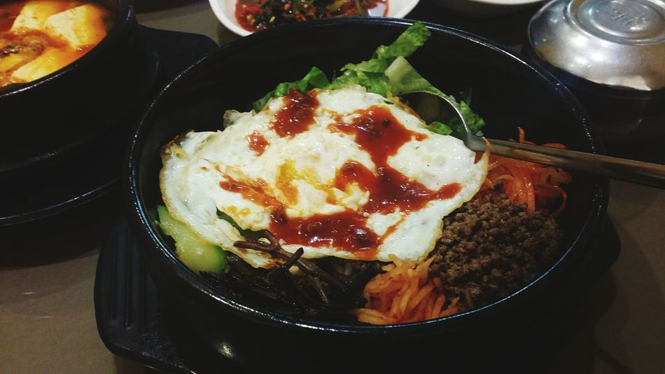FoodPorn ;) Korean Food 비빔밥 Mixed Rice